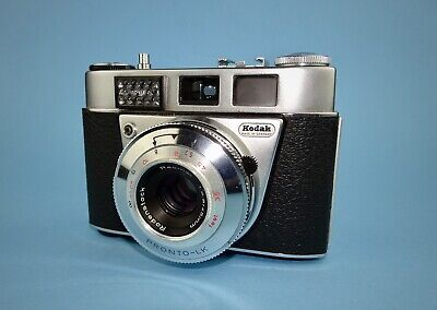 Kodak Retinette IB camera in near mint condition - boxed with instructions