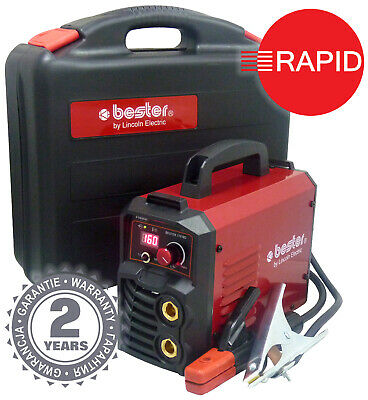Lincoln Bester 170-ND Inverter Arc Welder Package with Two Year Warranty - 230v