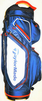 Taylormade Tm20 8.0 Pro Cart Bag Navy/White/Red Brand New