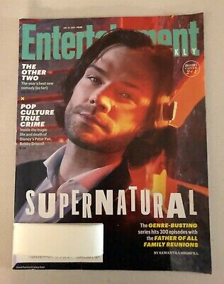 Entertainment Weekly Magazine Mag Supernatural Jared Padelecki Sam Winchester