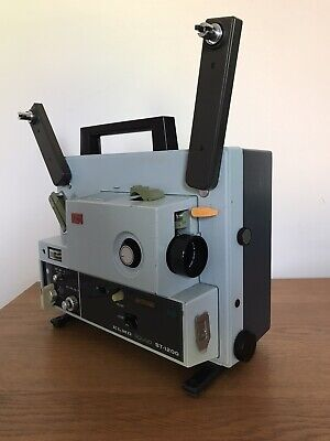 Elmo ST-1200 Super 8 Sound Projector (tested)