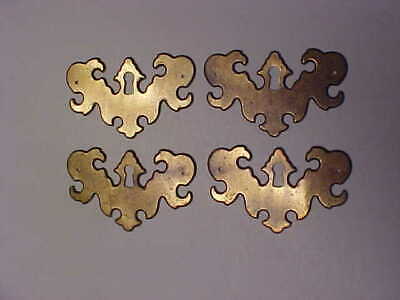 lot of 4 Old - Vintage Federal Style Escutcheons