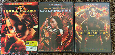 The Hunger Games | 3 Dvd Set | Brand New-Unopened