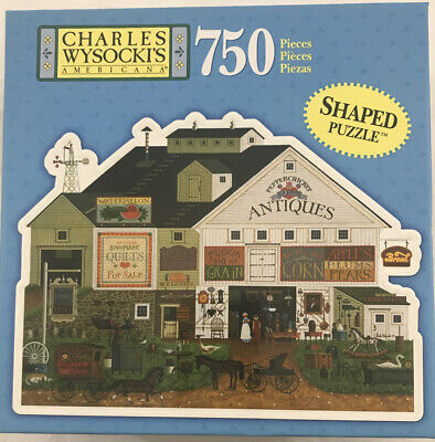 Charles Wysockis Americana 1000 piece puzzle Maine Sunday Afternoon