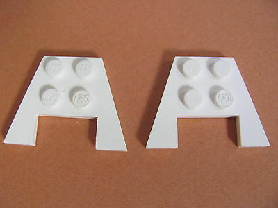 Nr.7427 Lego 4859 Wedge Platten 3x4 6 x gelb without Stud notches