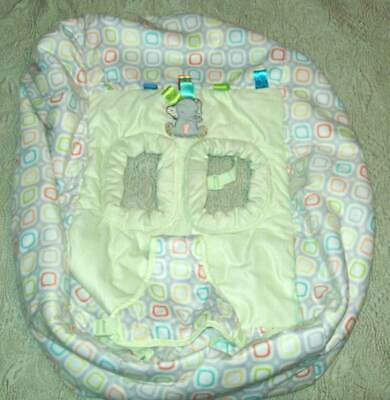 Taggies Tag 'n Go Grocery Shopping Cart Cover Elefriend Snuggles High Chair
