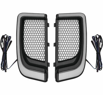 Kuryakyn Tracer LED Fairing Lower Grills 5064