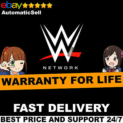 WWE Network 3 Year Only Premium Live Access Subscription