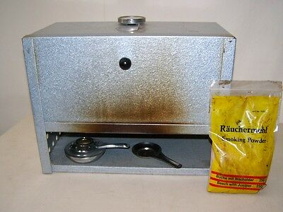 Age GDR Portable Smoker with Temperature Display Camping