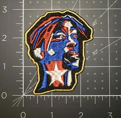 Tupac American Flag 2Pac Iron On Patch