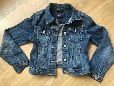 Girls Gap Denim Jacket Size M