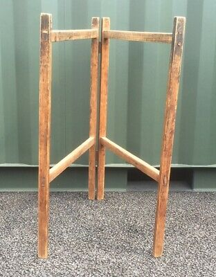 Sy Antique Wooden Clothes Horse