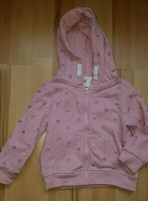 Girls pink hoodie age 2-3 and 4-5
