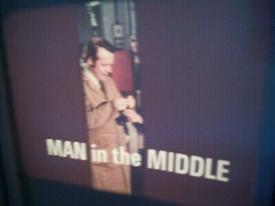 """Vintage 16mm film.Management training film """"The Man in the Middle"""" 900ft colour"""