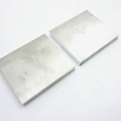 ".625"" thick 6061 Aluminum PLATE  5.625"" x 5.875"" Long QTY 2 Stock sku 122276A"