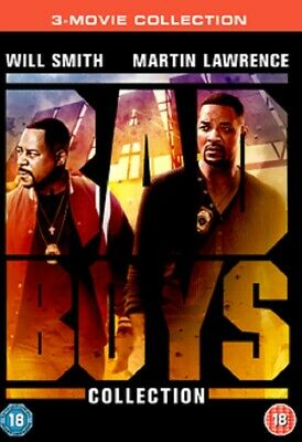 Bad Boys 1 + 2 + 3 Bad Boys for Life Martin Lawrence Will Smith New DVD