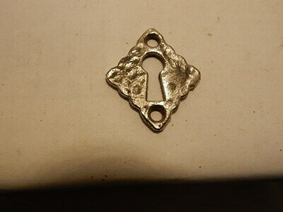 Antique Door Key Hole Escutcheon Cast Iron (KH 59).