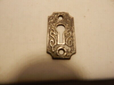 Antique Door Key Hole Escutcheon Cast Iron (KH 64).