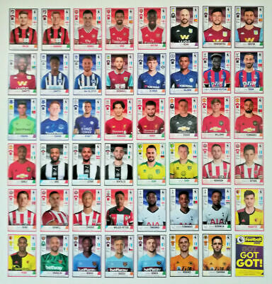 PICK YOUR PLAYERS - TRANSFER UPDATE stickers Panini Football 2020 Premier League
