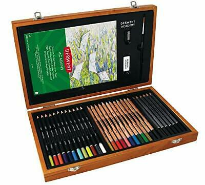 Derwent Academy 2300147 Colouring Pencils and Graphite Pencils Art Supplies Set