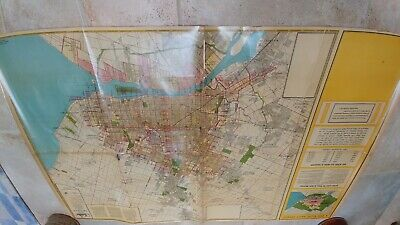 Historical map ofDetroit-1924. Wayne County and part of Oakland and Macomb Co.