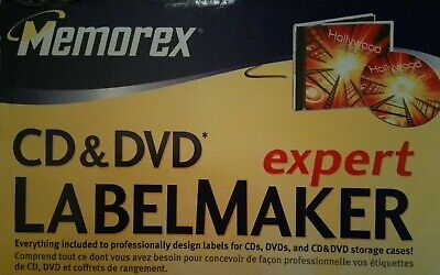 Memorex Cd Dvd Labelmaker Expert Expressit Label Design Studio New Windows 7 99 Picclick
