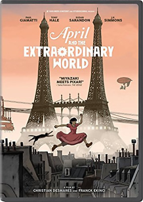 `Cotillard,Marion`-April And The Extraordinary World Dvd New