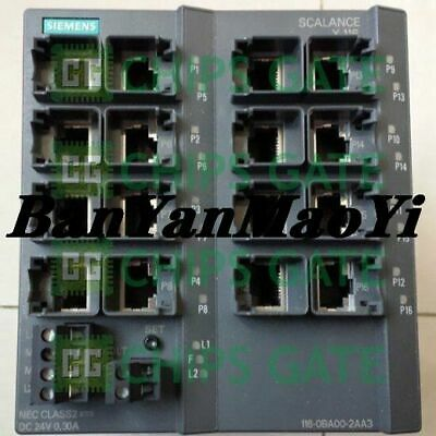 FedEx DHL  Used Siemens 6GK5116-0BA00-2AA3 Tested in Good condition