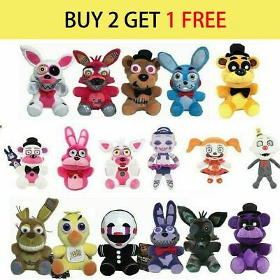 """Five Nights at Freddy's FNAF Horror Game Kid Plushie Toy Plush Dolls Gift 7""""~10"""""""