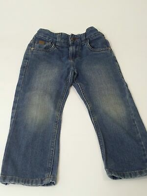 Boys Next Blue Mid Wash Adjustable Waist Denim Jeans Age 4 Years