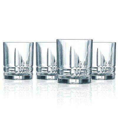 Luminarc - 13 oz. Parallels Double Old Fashioned 4 PC Set