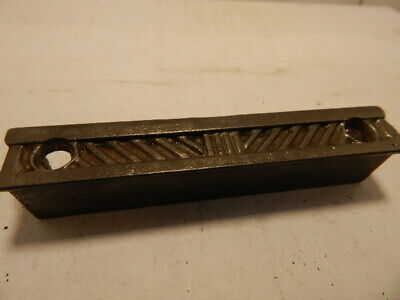 "Ornate Antique Door Rim Lock Keeper 4 1/8"" x 11/16"" x 3/4"" (RK 013)"