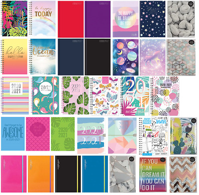 2020 2021 A5 Size Academic Mid Year Week to View Student Teacher Diary Planner