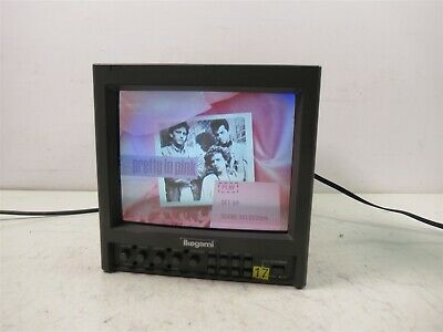 "Ikegami TM9-1 Color 9"" Monitor Professional CRT Studio Unit"