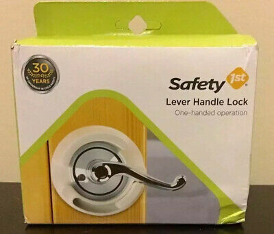 Safety's 1st: Lever Handle Lock