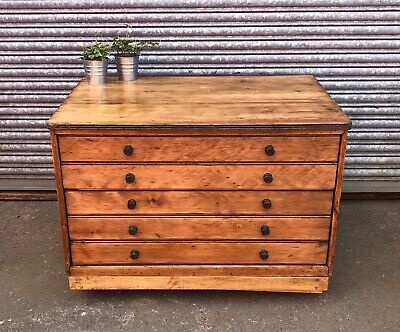 A1 Architects Art Artist Studio Drawers Plan Chest Fully Functional - DELIVERY