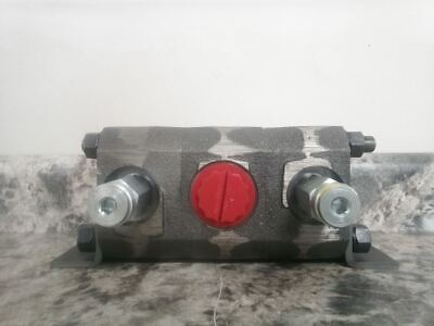 Concentric 1100042 10-20 GPM 2750 PSI Rotary Gear Hydraulic Flow Divider