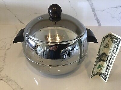 Mid-Century West Bend Penguin Hot and Cold Server Ice Bucket