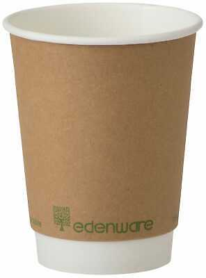 Edenware Compostable Double Wall Coffee Cup 12oz - 1x500