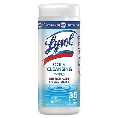 Lysoll Cloths Kills  Free From Harsh Chemicals bundle lot