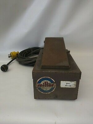 Miller MODEL RFC-23A Remote Foot Control Pedal
