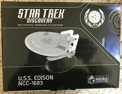 Eaglemoss Star Trek Discovery Official Collection U.S.S. Edison NCC-1683