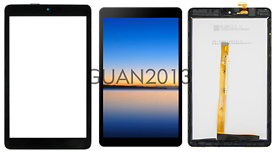 """WOW For Alcatel Joy Tab 8"""" 9029W 9029Z Replacement Touch Screen Frame ± LCD LOT"""