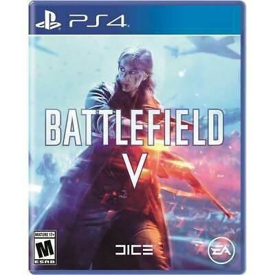 Battlefield V Sony PlayStation 4 PS4 Video Game - New and Factory Sealed