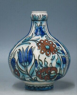 @ A SUPERB @ Antique handpainted Porceleyne Fles old persian Delft vase ca 1915