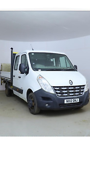 2012/12 Renault Master 2.3 Dci 7 Seater Crewcab With Tail Lift 1 Owner Full Mot