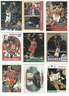 x255 Different MICHAEL JORDAN Basketball card lot Skybox Hoops Topps Rookie RP!!