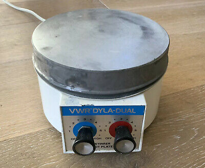 VWR Dyla-Dual Hotplate Magnetic Mixer Stirrer
