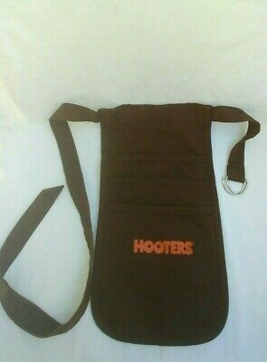 USED Authentic Hooters Uniform Apron - Brown