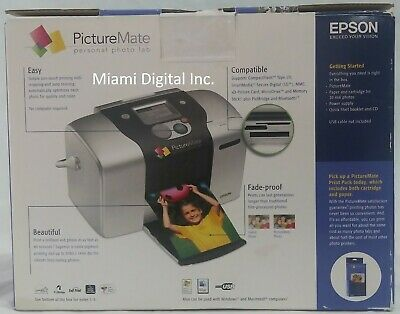 Epson Picture Mate Personal Photo Lab *Used* *Tested* Epson B271A